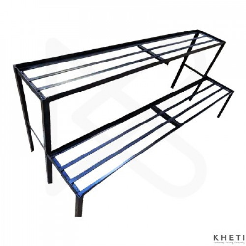Iron Double Stand