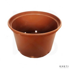 Gallon pot brown (10 inches)