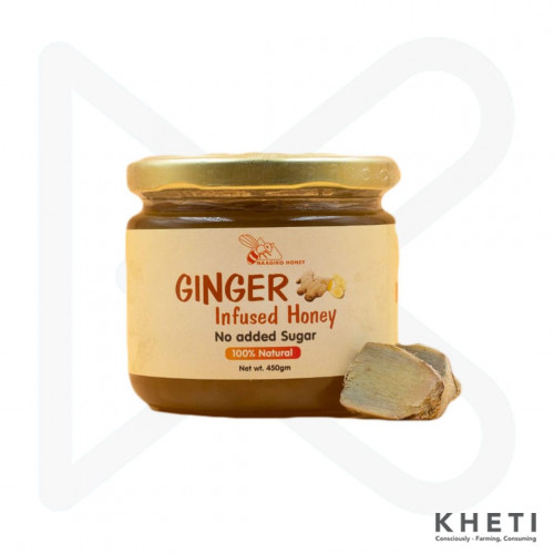 Naagiko Ginger Infused Honey