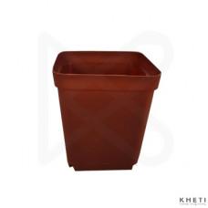 Square plant pot