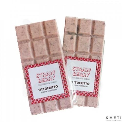 Strawberry Milk Cookies and Cream