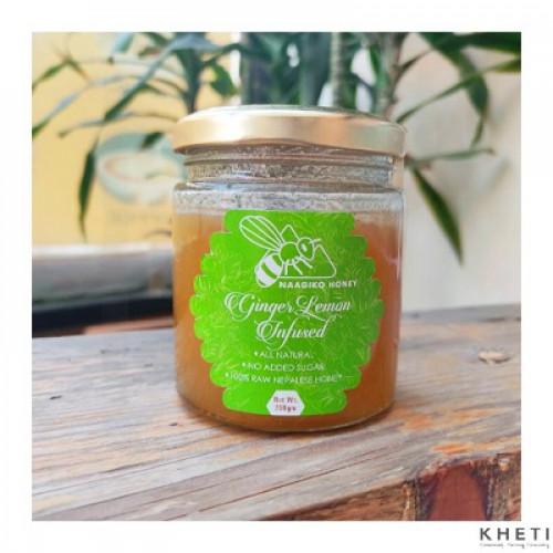 Naagiko Ginger Lemon Infused Honey