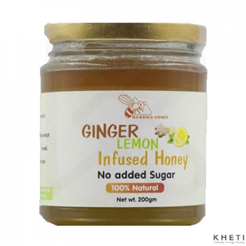 Naagiko Ginger Lemon Infused Honey