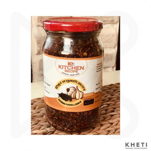 Sichuan Pepper and Garlic Pickle